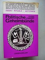 Politische Geheimbünde Ideen Rituale Aktionen 1968