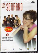 LOS SERRANO DVD 16, 2 CAPITULOS EL OTRO LADO DE LA ACERA Y LOS PUENTES DE BURUND