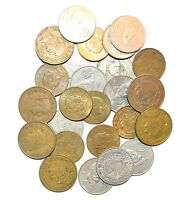 MEXICO mixed lot 25 UNSEARCHED CENTAVOS COINS cinco vintage 20 5