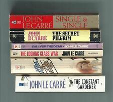 lot 6 LeCarre pbs The Constant Gardener Single & Single The Secret Pilgrim + 3