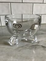Good Humor Bowl Ice Cream Breyers Klondike Popsicle Silver logo w/feet footed ad