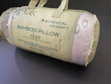 Bamboo Pillow King size Botanical Comfort NEW