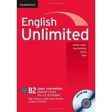 English Unlimited Upper Intermediate A and B Teacher's Pack (Teacher's Book with