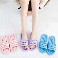 Hollowed Women Slipper Sliders Shower Shoes Flip Flop Comfortable Beach Sandals