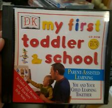 My First Toddler School - PC GAME - FREE POST