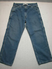 Levis 34x30 Mens Carpenter Loose Straight Medium Wash Jeans ( Measure 34x31 )