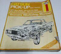 Haynes Automotive Repair Manual DATSUN Pickup 620 series 1973 thru 1979 # 277