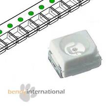 50x PURE GREEN  INDICATOR SMD LED SIEMENS PLCC-2 TOPLED SMT