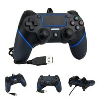 MANDO CON CABLE GAMEPAD PARA SONY PLAYSTATION PS4 DOUBLESHOCK WIRED CONTROLLER