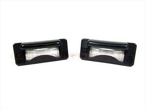 02-06 Dodge Sprinter 2500 3500 License Plate Light Lamp Set Of 2 OEM NEW MOPAR