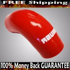 """RED  2.25"""" Universal 90 Degree Elbow Silicone Hose Turbo Pipe"""
