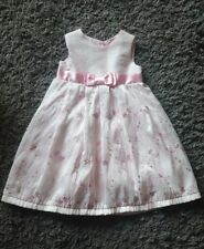 Baby Toddler Girls BHS Pink Party Dress 12-18 Months