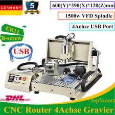 USB 4ASSI 1.5KW CNC 6040Z Engraver MACCHINA PER INCISIONI MILL CUTTING INCISIONE