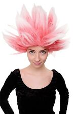 Wig Carnival Dragonball Demon Loki Mad Scientist Red White lm-19-pc13tp60