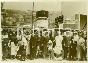 1936 GENOVA Dirigenti industriali visitano il REX *Fotografia