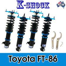 K-SHOCK coilover adjustable DAMPER KIT SUIT TOYOTA 86 GT86 FT86 /SUBARU BRZ 2.0L