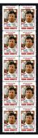 MARIO ANDRETTI MOTOR RACING STRIP OF 10 MINT VIGNETTE STAMPS 4