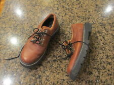 Ariat Women's 5.5 1/2 EUR 35 Lace Up Loafer Work Casual brown Leather 16920