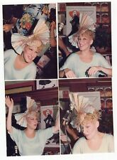 """BETTE MIDLER Lot of 4 Vintage 3.5"""" X 5"""" Photos by Peter Warrack (1935-2008)"""