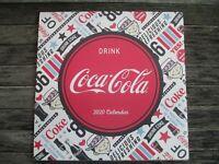 Coca-Cola 2020 12 month 12 x 12 Wall Calendar Vintage Nostalgia