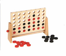 New York Gifts Wooden Classic Counter Game Four 4 In A Row In Retail Box