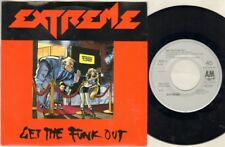 "EXTREME Get The Funk Out 7"" Ps, Dutch Pressing, B/W Lil Jack Horny, 390 613-7"