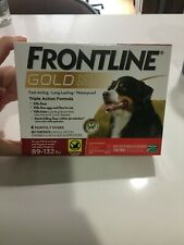 Frontline Gold for Dogs 89-132lbs 6pack New, Unopened