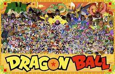 Dragon Ball Z Anime Character Poster Print T1125 |A4 A3 A2 A1 A0|