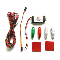 Simulation Navigation 2S-3S Voltage Ducted LED Light for RC Aircraft Drone