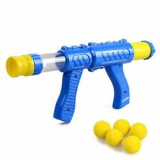Aerodynamic Gun Bullet Air Shoot Desktop hooting Game Air Powered Gun Toy Kids,N