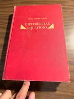 Differential equations by Ralph Palmer Agnew 1960 Second Ed.