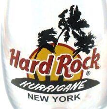 Hard Rock Hurricane Glass from NEW YORK Souvenir Barware Collectible