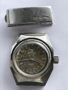 ZENITH DEFY WATCH 01.0160.485 SUB DIVER AUTOMATIC DATE LADY SWISS MADE