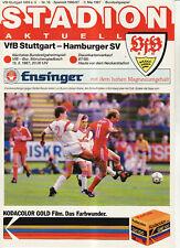 BL 86/87  VfB Stuttgart - Hamburger SV