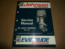 1992 Johnson Evinrude Outboards 150 175 HP Service Manual OEM Boat 508146
