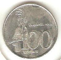 Offer>Indonesia 2003 Kakaktua Raja 100 rupiah coin very nice!