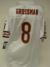 NEW Youth Kids REEBOK Rex GROSSMAN #8 Chicago BEARS White NFL Football Jersey