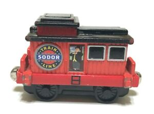 Thomas and Friends Take N Play Sir Topham Hatt's Musical Caboose Sounds Diecast