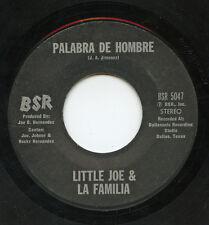 HEAR- Rare Latin Soul 45 - Little Joe & La Familia - Palabra De Hombre - BSR5047