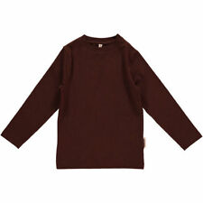Boys' Organic Cotton Long Sleeve Sleeve Crew Neck T-Shirts & Tops (2-16 Years)