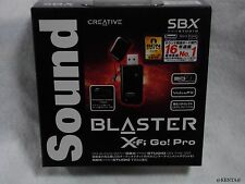 Sound Blaster X-Fi Go! Pro r2 Creative USB Audio Interface SB-XFI-GPR2