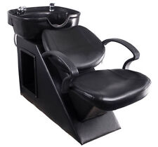 Barber Chair Backwash Unit Station Shampoo Bowl Sink  Beauty Spa Salon Equipment