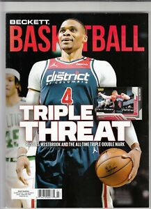 July 2021 Beckett Basketball Magazine with Russell Westbrook on Cover