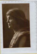 144071 antica cartolina con timbro a secco fotografo o editore di salo'