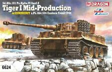 DRAGON 6624 1/35 Tiger I Mid-Production w/Zimmerit 1944 (Bonus:Magic Track)