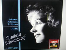 Schubert, Schumann, R. Strauss: Lieder (CD, Jan-1991, EMI Music Distribution)