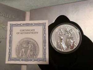 Germania 2019 The Allegories – Britannia & Germania 2 Oz 999 Silver Coin