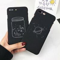 Retro Simple Stars Sky Slim Matte Hard Back Case For Apple iPhone 6s 7 7 Plus