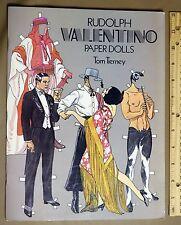 Paper Dolls Rudolph Valentino Book uncut unused