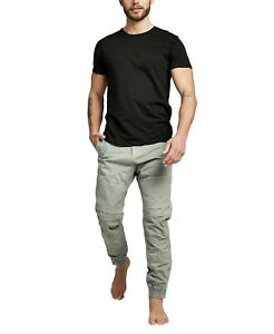 New Cotton On Urban Jogger 34 Gray Ripstop Utility S1117